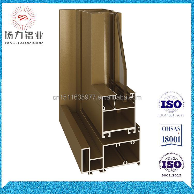 Factory aluminium aluminium frame aluminium folding door parts