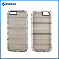 [Smart Times] Wholesale Uneven Soft TPU+PC Phone Case For IPhone 6 Cover