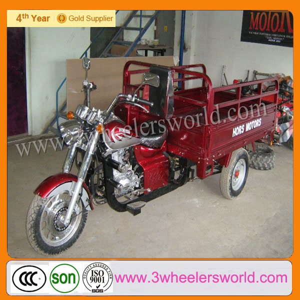 Chinese Three Wheel Large Cargo Pedicab Rickshaw Motorcycles/Scooter Manufacturers