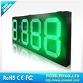 led number digit display \ led number 7 segment panel \ 7 segment number signage sign