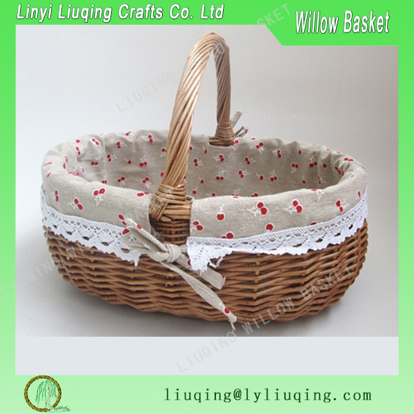 Willow picnic baskets/Picnic baskets/willow hamper basket