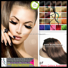 Wholesale Factory Price Double Wefted Best Selling color #51 remi hair weave
