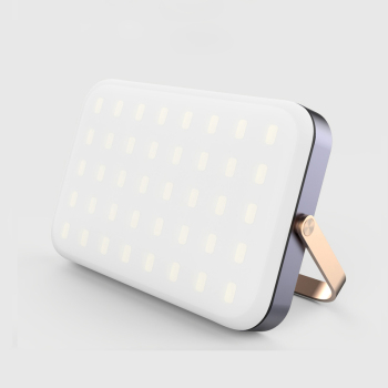 New Product Multi-function Mobile Power Bank 16000mAh with 40 LED Highlight Lamp Beads for iPhone X for Samsung