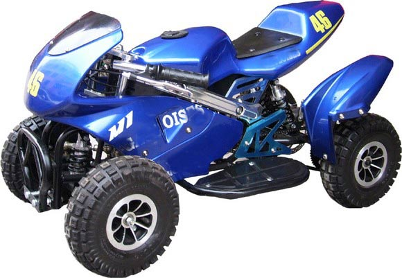 CE cheap gas four wheelers suzuki quad bike 50cc for kids