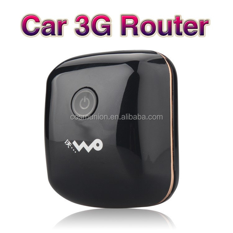 qualcomm chipset 3G car/bus wifi router from china