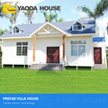 modern mobile villa style small house prefabricated luxury simple steel structure modern prefabricated house and villa
