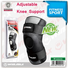Winmax Hot football basketball volleyball black durable knee shin protector guard pad Knee Supports Kneepad Wholesale Price!