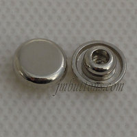 Alloy rivet nut for garment decoration