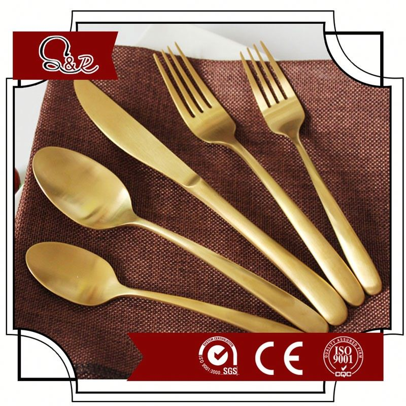 Set of cutlery customed, wholesale banquet silverware