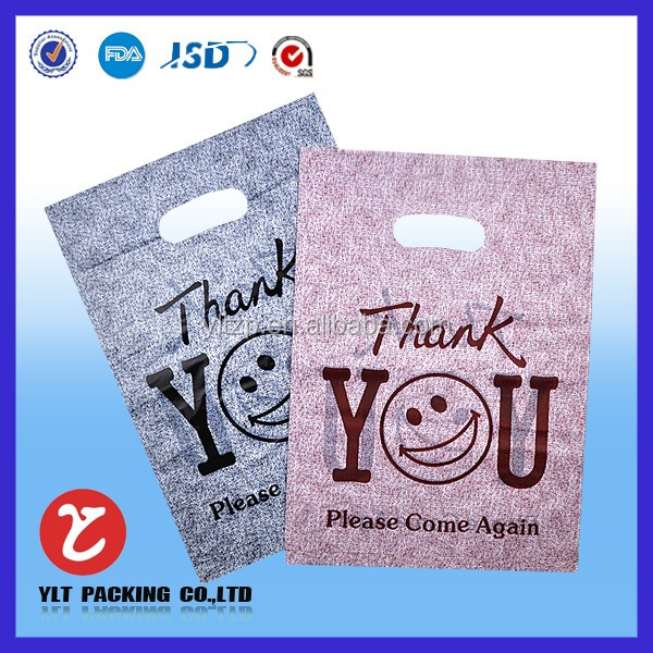 China Factory ldpe plastic shopping bag/supermarket use plastic shopping bag/gift shopping bag