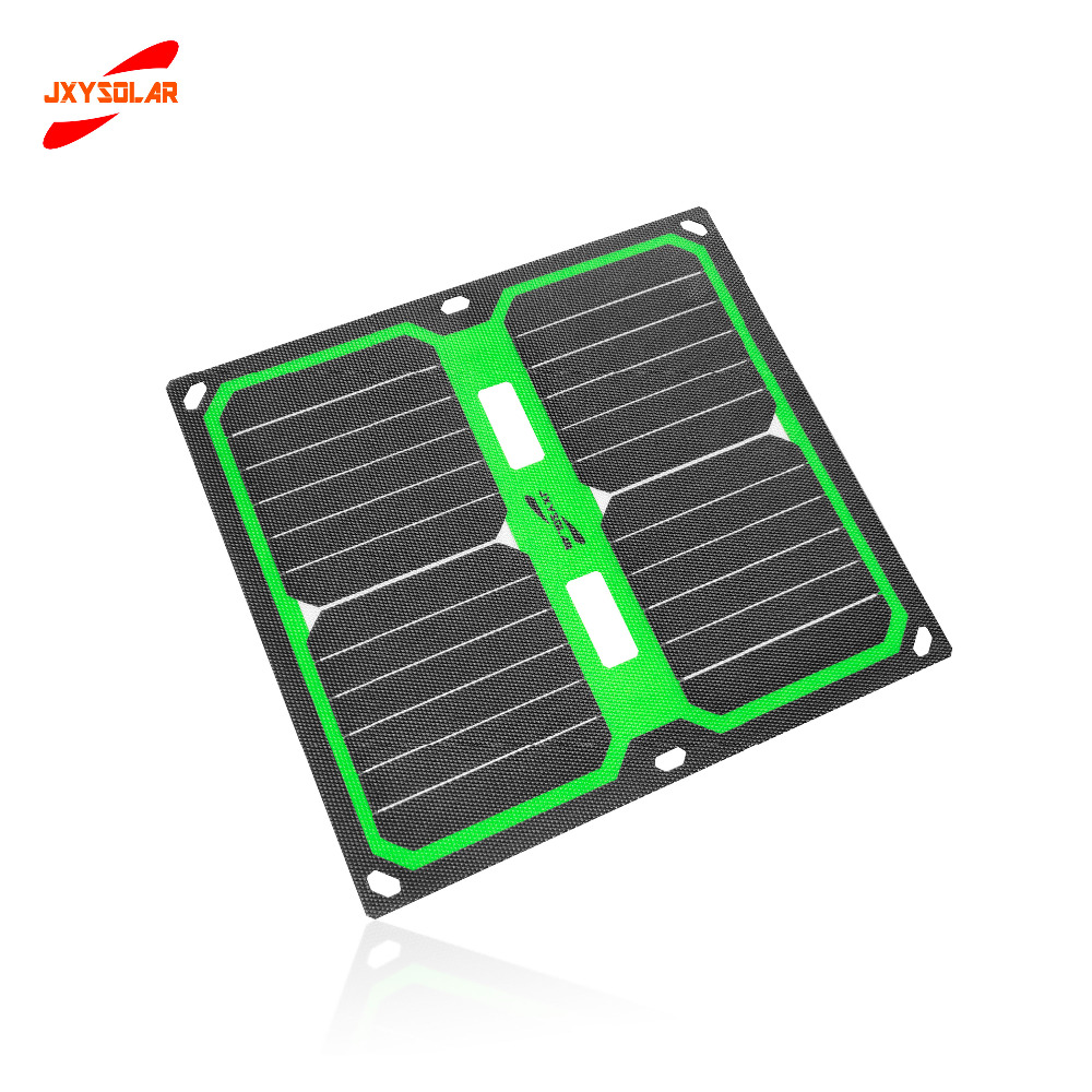 New solar charger bag ETFE 14W portable foldable solar panel solar charger bag for camping car battery iphone ipad ipod