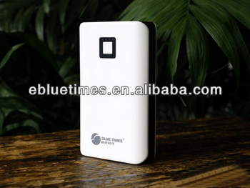 6000mah portable power bank with dual 2A output