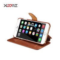 XOOMZ Flip Cover for iPhone 6 PU Leather Wallet Case