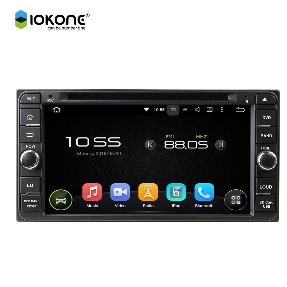 Car stereo DVD Player for Toyota HiLux Innova 06-11 / Fortuner