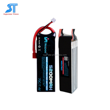 7.4V 5200mah 25C RC Car Battery with Plastic Case