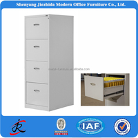 waterproof storage metal office 4 drawer steel file cabinet with ironing board