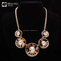 BLN0403 Women Accessories Round Pierced Crystal