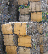 PET bottles plastic scrap in bales. We can supply PET bottles scrap in bales with approx. 16 MT per 40' HC container. Mate