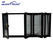 Australian standard as2047 aluminium interior bi-fold window shutters/sliding folding window