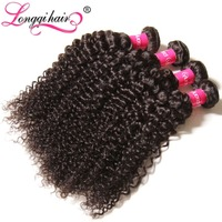 No Tangle No Shed Brazilian Human Kinky Hair Weave