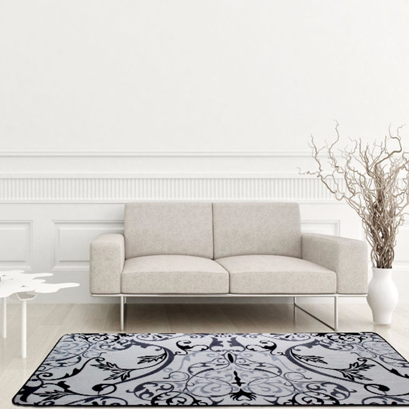 floral print living room decorative carpet