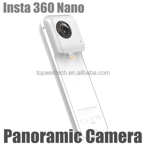 2017 promotional products Insta 360 Nano wireless Video Camera 4k video camera 360 210 Degree Dual Wide Angle Fisheye Lens