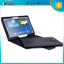 Super slim 13.3inch tablet pc leather keyboard case,Tablet PC Protective Leather Case + USB Keyboard