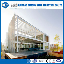 Prefabricated Steel Structure Building prefab Shopping Mall