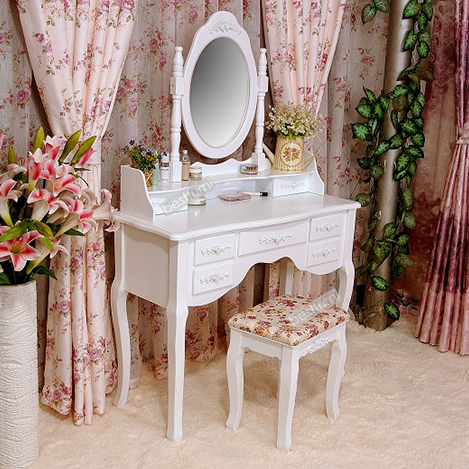 Hotsale liviing room wooden dressing table set