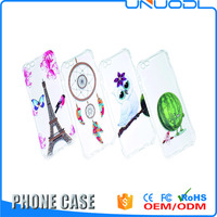 UNUODI-A27 Colored Drawing Cartoon Painted Soft TPU two mobile phones leather case