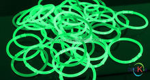 Party Supplies Light up Glow Sticks for Making Glow Bracelet, Necklace, Mix Neon Color