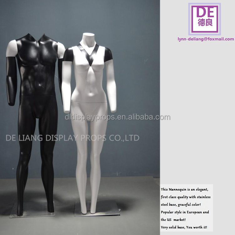 European fashion female Invisible ghost mannequin Photography Mannequin