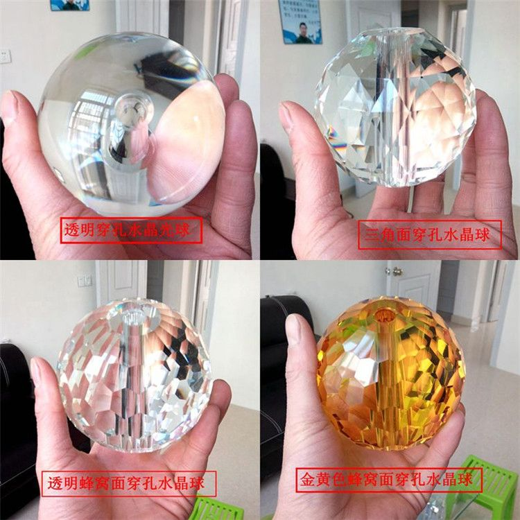 Best Prices attractive style crystal balls with hole