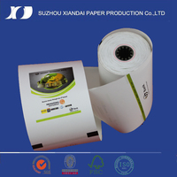 2016 high quality printed thermal paper roll lottery tickets pvc plastic wrapping paper roll atm paper roll chinese partner