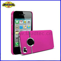 Hot Selling New Stylish Chrome Case for iPhone 4 4S,Back Hard Case Cover--Laudtec
