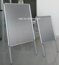 folding A board A frame aluminum display stand for poster advertising
