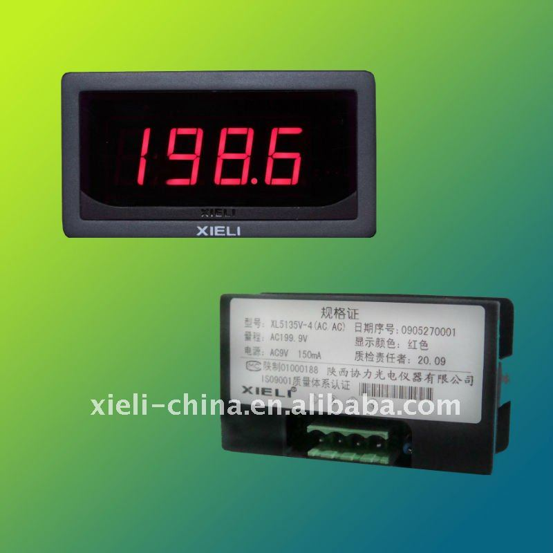 Digital ampere meter use in cars, boats and testing device
