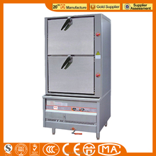 JINZAO ESC-2DA-N Stainless steel Steamed Ark/Steamer/Steaming Cabinet for Commercial Kitchen 5-STAR hotel Seafood Rice Steamed