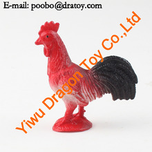 2014 hot plastic cock toy animal
