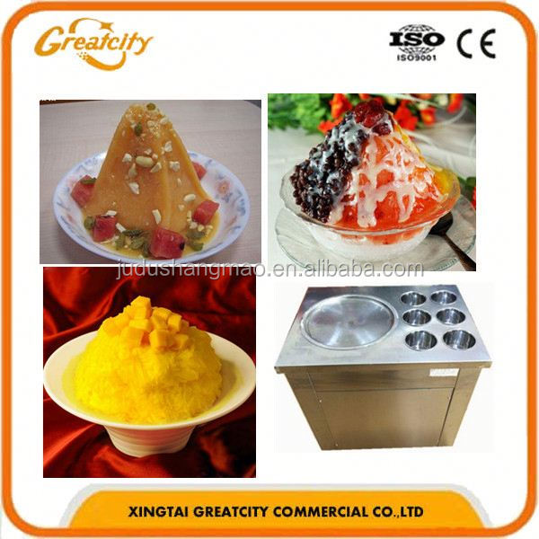 factory directly supplying thailand rolled fried ice cream machine for ice cream store