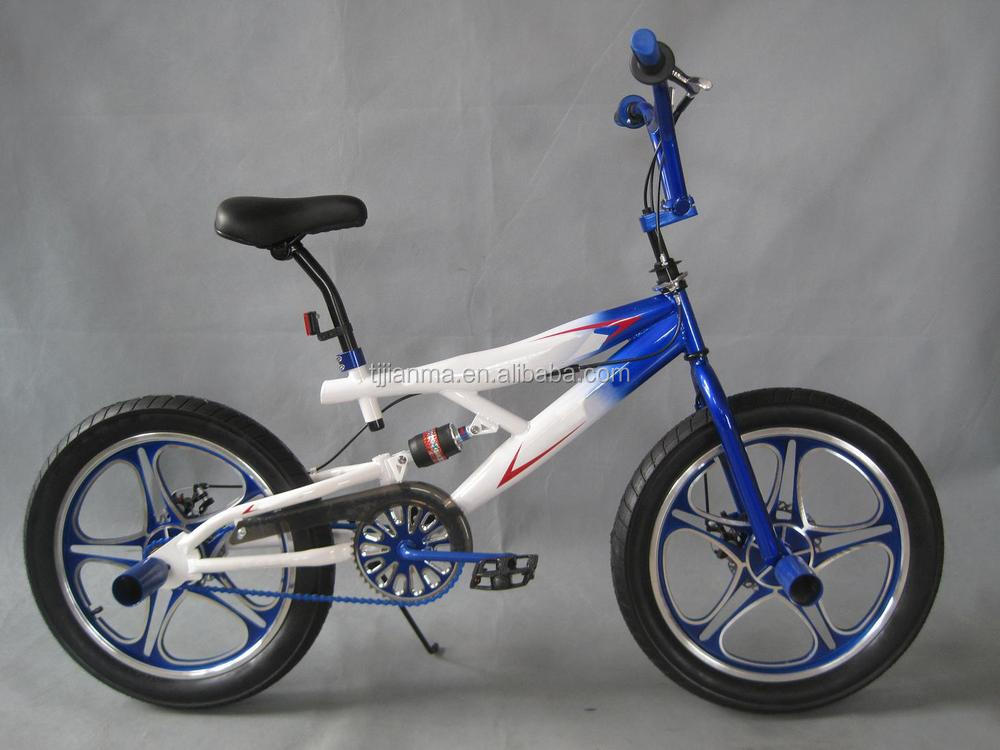Feichi jianma hot selling 20 inch suspension freestyle bike bMX bicycle