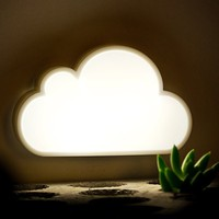 cloud shapes night light/Safe and Health baby bedroom battery operated night light