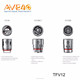 Alibaba AVE40 Supplier RBA Sub ohm 6ml Vape Tank SMOK TFV12 Beast Atomizer