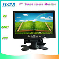 16:9 Wide Size Digital USB VGA 7 inch TFT-LCD Touch Screen Monitor