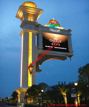SMD fullcolor advertisement led billboard screen P6mm