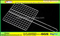 Export galvanized Barbecue Grill Wire/bbq grill wire mesh for chicken roast