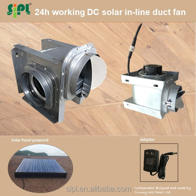 sola fan 18V solar toilet exhuast fan solar metal solar panel motor home kit exhaust fan
