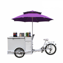 Manufacture design solar ice cream freezer cart portable rechargeable battery Solar Ice Cream Bike 12v Fridge Freezer