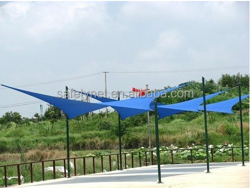 types of sun shade sails in high quality