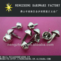 15mm nickel metal bucket spike rivet for shoes design